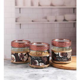 Decorated Jar Set