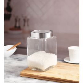 Trigo Square Jar 1700 Ml