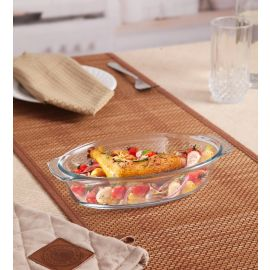 Oval Dish With Handle 0.7L