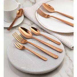 Alessi 24Pcs Copper Cutlery Set