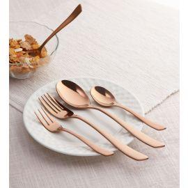 Grace 24 Pc SS Cutlery Set Mirror Copper