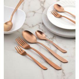 Grace 24 Pc SS Cutlery Set Matt Copper