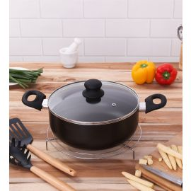 Secura Cook & Serve Casserole With Lid 24 Cm